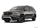 2019 Dodge Journey Crossroad, front angle medium view.