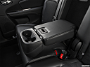 2019 Dodge Journey Crossroad, rear center console with closed lid from driver's side looking down.
