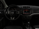 "2019 Dodge Journey Crossroad, centered wide dash shot - ""night"" shot."