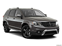 2019 Dodge Journey Crossroad, front passenger 3/4 w/ wheels turned.