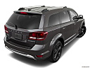 2019 Dodge Journey Crossroad, rear 3/4 angle view.