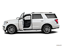 2019 Ford Expedition Limited, driver's side profile with drivers side door open.