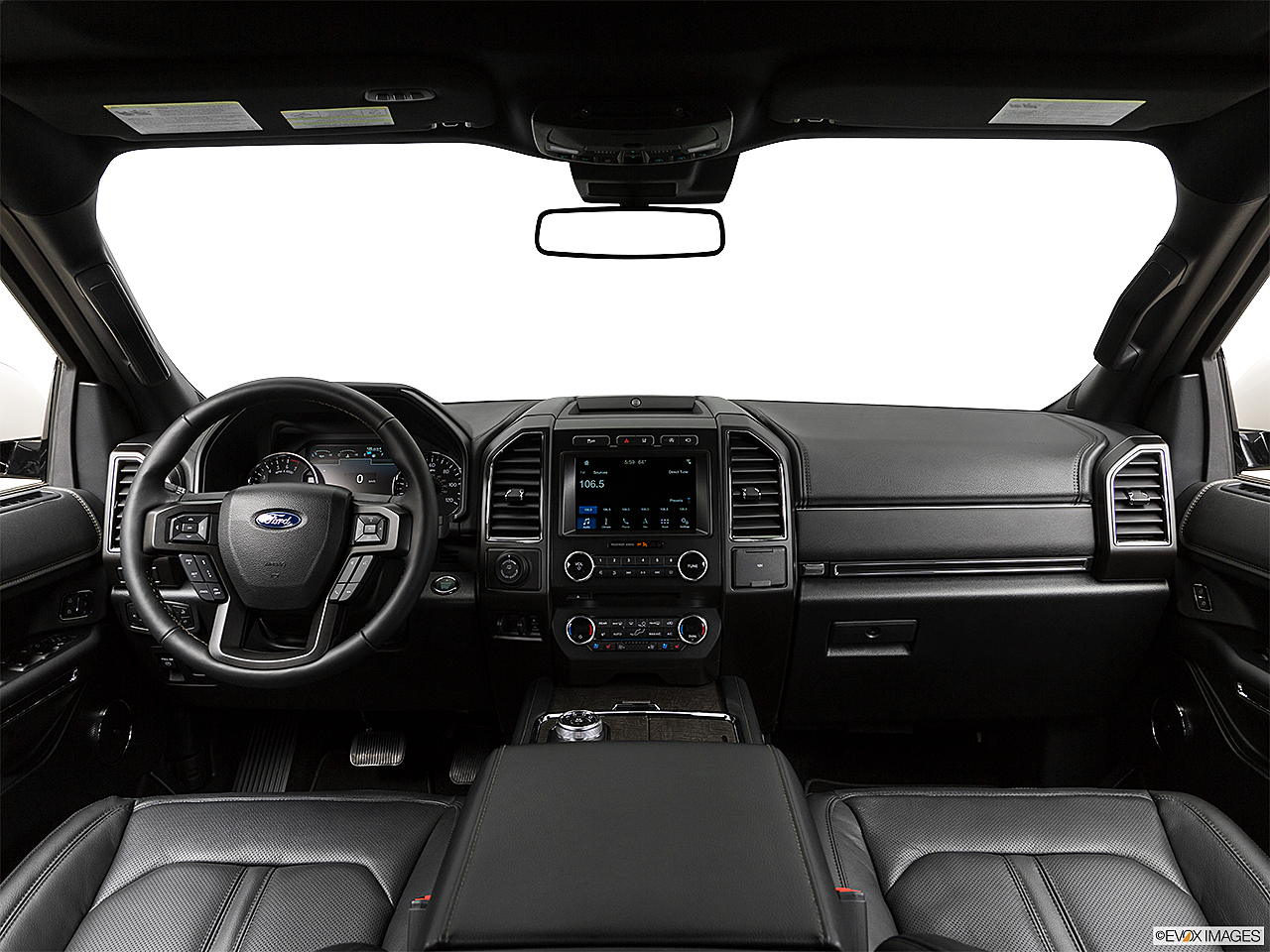 2019 Ford Expedition Limited, centered wide dash shot