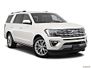 2019 Ford Expedition Limited, front passenger 3/4 w/ wheels turned.