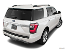 2019 Ford Expedition Limited, rear 3/4 angle view.