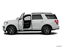 2019 Ford Expedition XLT, driver's side profile with drivers side door open.