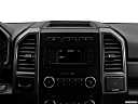 2019 Ford Expedition XLT, closeup of radio head unit