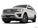 2019 Ford Expedition XLT, front angle view, low wide perspective.
