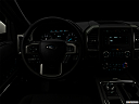 "2019 Ford Expedition XLT, centered wide dash shot - ""night"" shot."