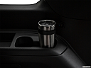 2019 Ford Expedition XLT, third row side cup holder with coffee prop.