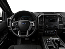 2019 Ford Expedition XLT, steering wheel/center console.
