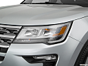 2019 Ford Explorer XLT, drivers side headlight.