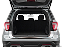 2019 Ford Explorer XLT, trunk open.