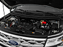 2019 Ford Explorer XLT, engine.