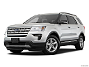 2019 Ford Explorer XLT, front angle medium view.
