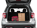 2019 Ford Explorer XLT, trunk props.