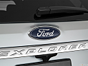 2019 Ford Explorer XLT, rear manufacture badge/emblem