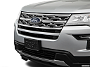 2019 Ford Explorer XLT, close up of grill.