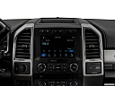 2019 Ford F-250 SD Lariat, closeup of radio head unit