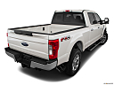 2019 Ford F-250 SD Lariat, rear 3/4 angle view.