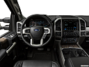 2019 Ford F-250 SD Lariat, steering wheel/center console.