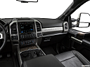2019 Ford F-250 SD Lariat, center console/passenger side.