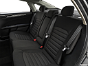 2019 Ford Fusion SE, rear seats from drivers side.