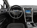 2019 Ford Fusion SE, steering wheel/center console.