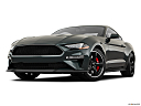 2019 Ford Mustang BULLITT, front angle view, low wide perspective.