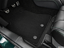 2019 Ford Mustang BULLITT, driver's floor mat and pedals. mid-seat level from outside looking in.