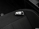 2019 Ford Mustang ECOBOOST, key fob on driver's seat.