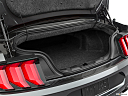 2019 Ford Mustang GT Premium, trunk open.