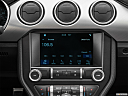 2019 Ford Mustang GT Premium, closeup of radio head unit