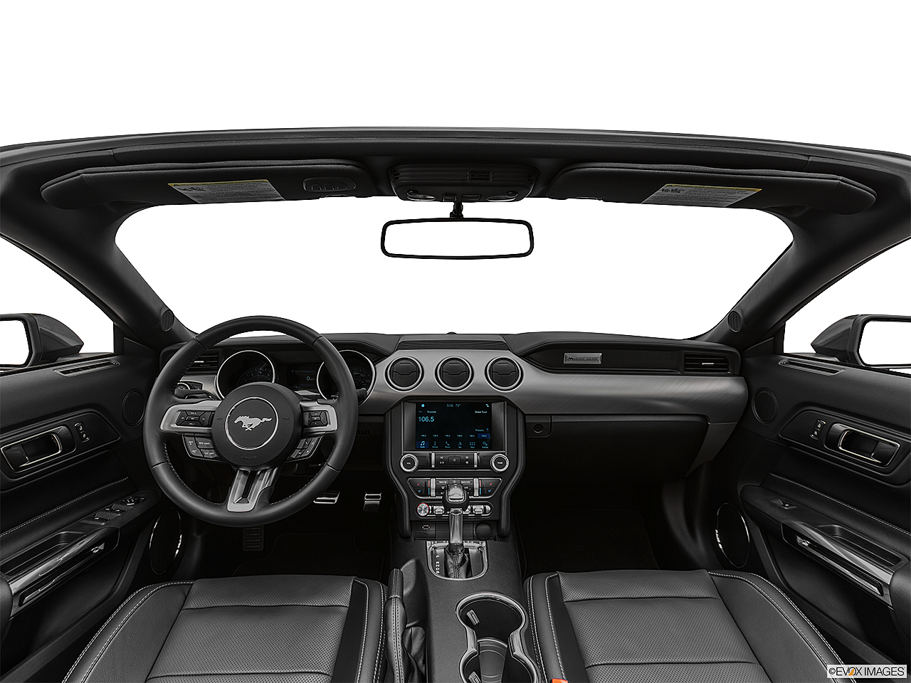2019 Ford Mustang GT Premium, centered wide dash shot