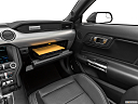 2019 Ford Mustang GT Premium, glove box open.