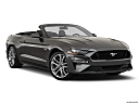2019 Ford Mustang GT Premium, front passenger 3/4 w/ wheels turned.