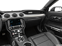 2019 Ford Mustang GT Premium, center console/passenger side.