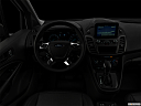 "2019 Ford Transit Connect Van XL, centered wide dash shot - ""night"" shot."