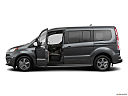 2019 Ford Transit Connect Titanium, driver's side profile with drivers side door open.