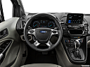 2019 Ford Transit Connect Titanium, steering wheel/center console.