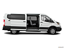 2019 Ford Transit Wagon 350 Low Roof XL, passenger's side view, sliding door open (vans only).