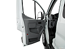 2019 Ford Transit Wagon 350 Low Roof XL, inside of driver's side open door, window open.