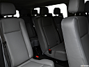 2019 Ford Transit Wagon 350 Low Roof XL, 3rd row seat from driver side.