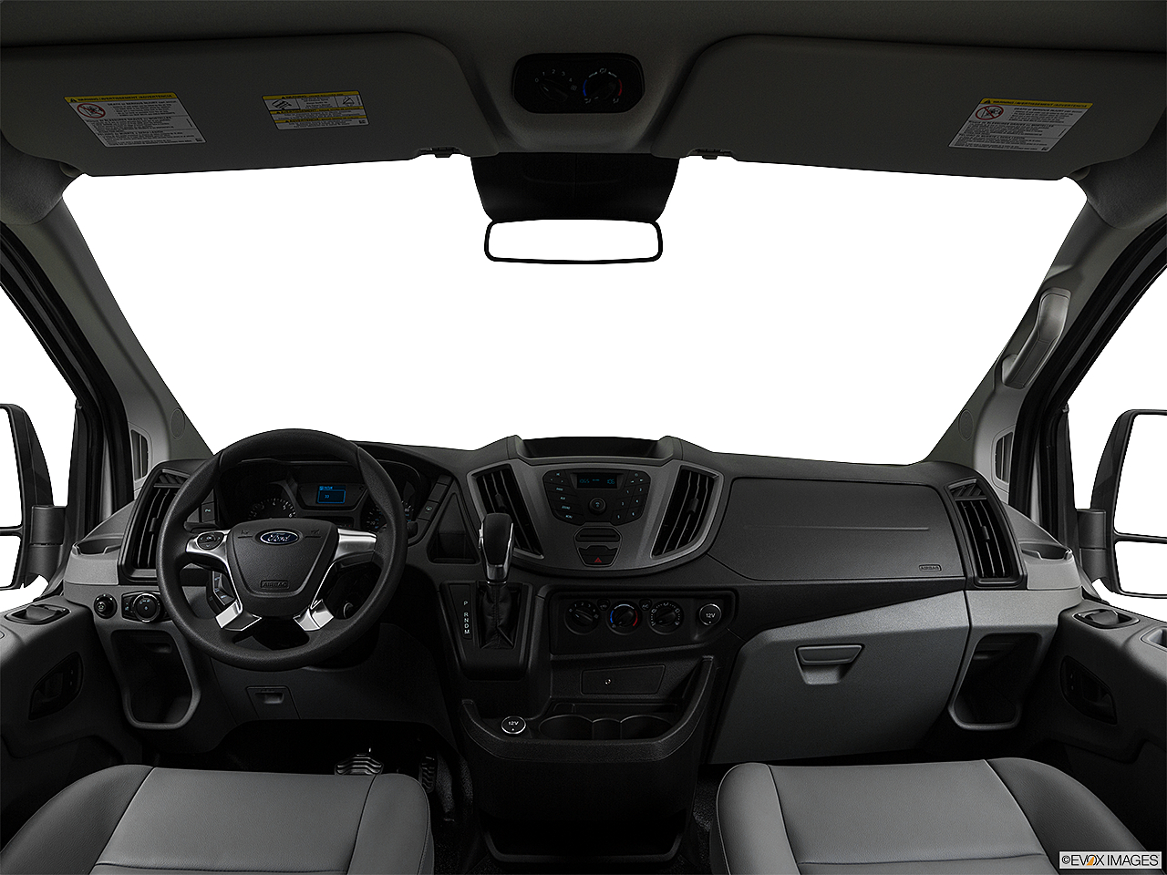 2019 Ford Transit Wagon 350 Low Roof XL, centered wide dash shot