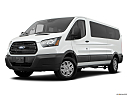 2019 Ford Transit Wagon 350 Low Roof XL, front angle medium view.