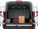 2019 Ford Transit Wagon 350 Low Roof XL, trunk props.