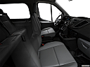 2019 Ford Transit Wagon 350 Low Roof XL, fake buck shot - interior from passenger b pillar.