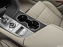 2019 Genesis G70 3.3T Design Edition, cup holders.