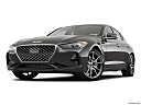 2019 Genesis G70 3.3T Design Edition, front angle view, low wide perspective.