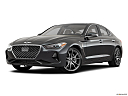 2019 Genesis G70 3.3T Design Edition, front angle medium view.